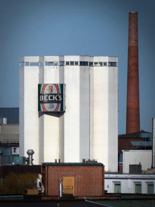 becks brewery industry