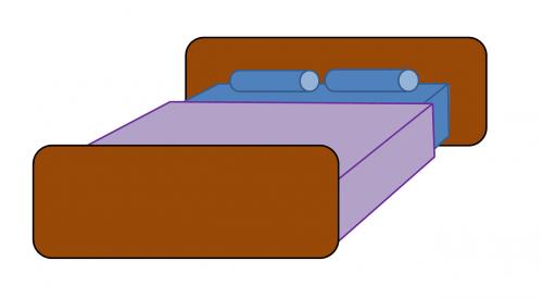 bed sleep mattress