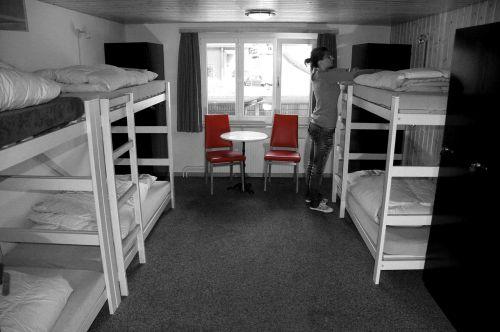 bed room hostel