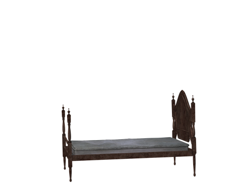 bed wooden bed rest