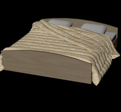 bed pillow blanket