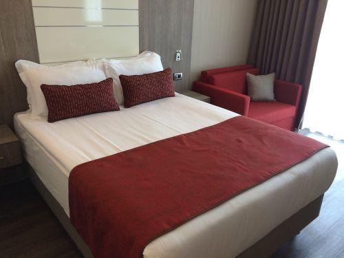 lova,viešbutis,Burgundija,kambarys