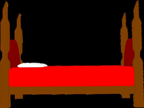 bed cartoon bedroom