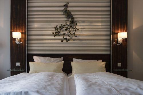 bed double bed sleep