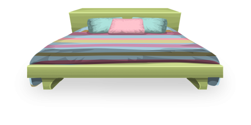 bed pillow comforter