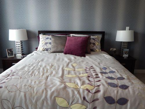 bed bedroom bedding
