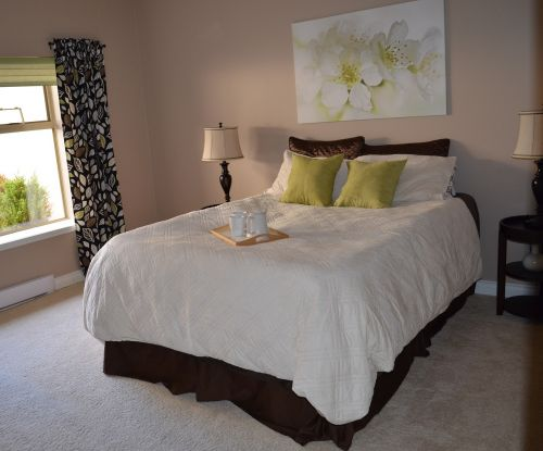 bedroom home interior