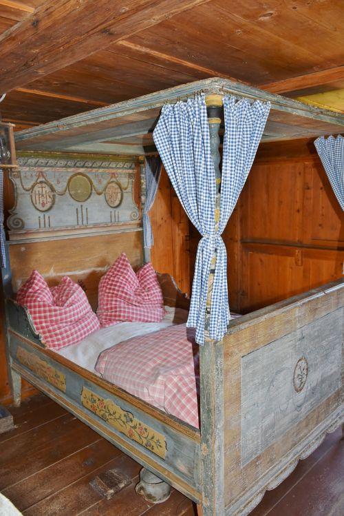 bedroom sleep rural