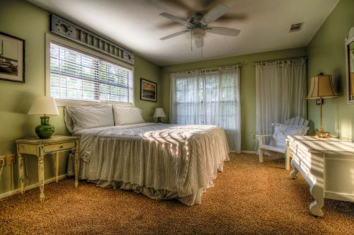 bedroom sleeping room bed