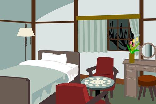 bedroom  furniture  nostalgic