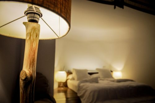 bedroom lamp night