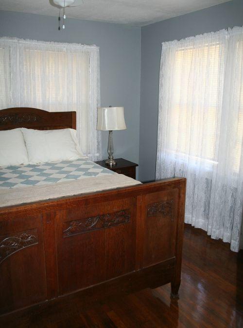 bedroom bed home