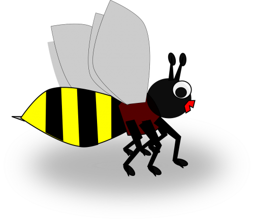 bee insect simple