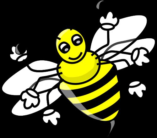 bee honey wings