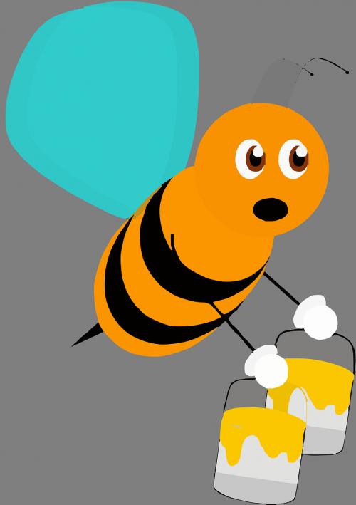 bee insect honeybee