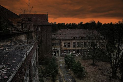 beelitz health resorts ruin