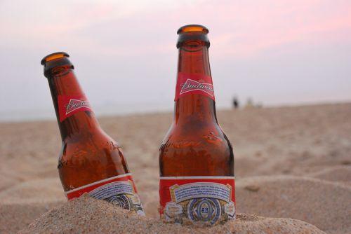 alus,vakaras,dangus,smėlis,alkoholis,Draugystė
