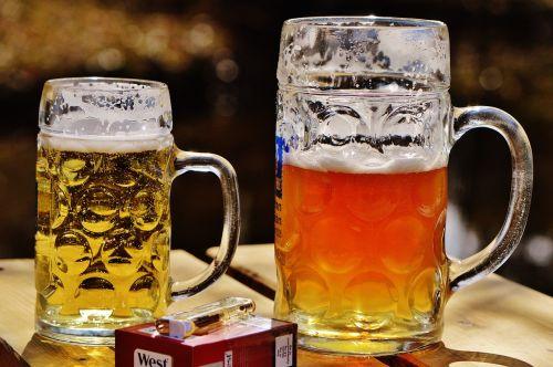 beer beer garden mug