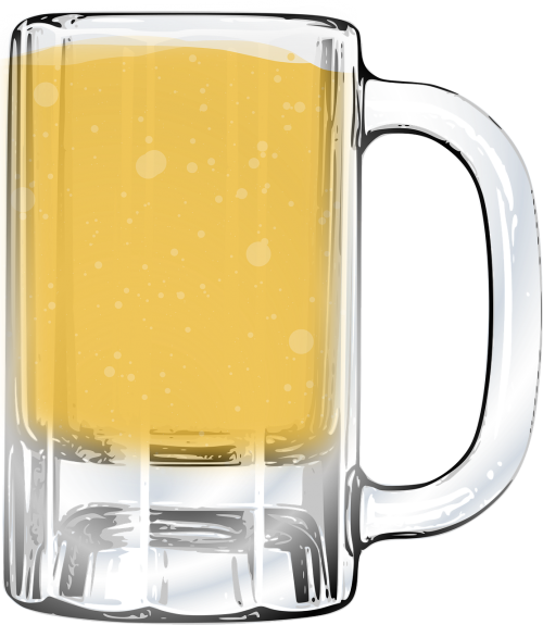 beer glass jar