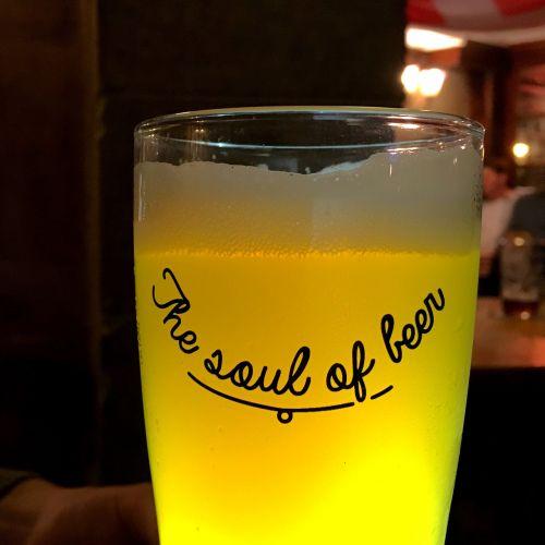 beer yellow dark