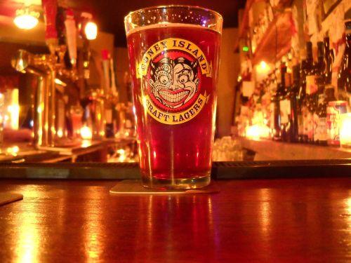 beer pint bar