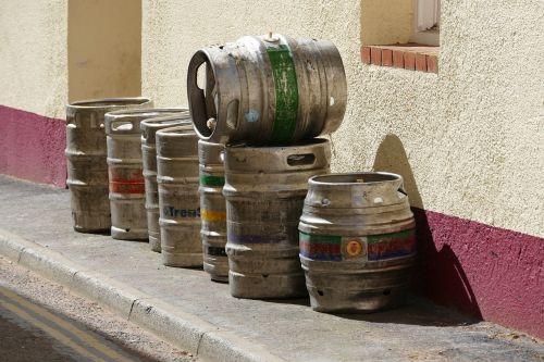 beer barrels ale