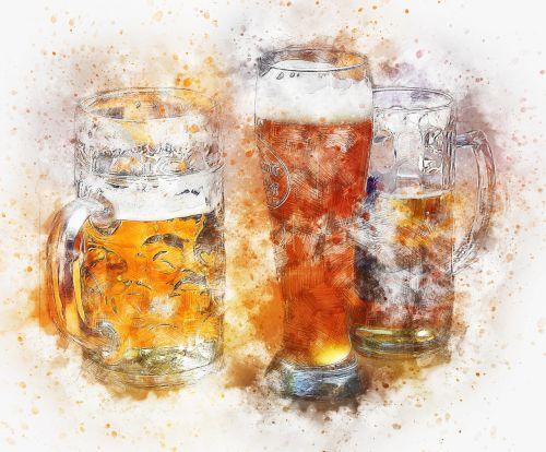 beer drink art