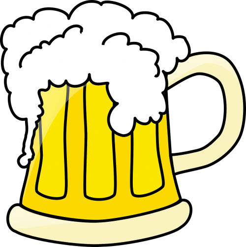 beer mug full