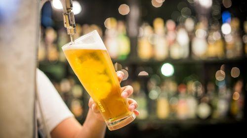 beer draft glass