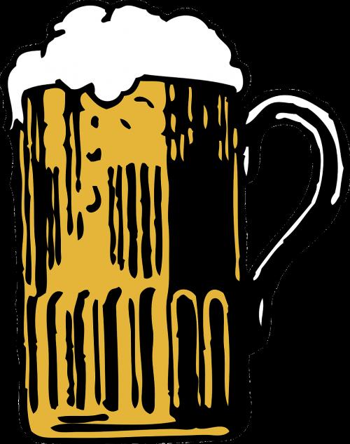 beer mug head