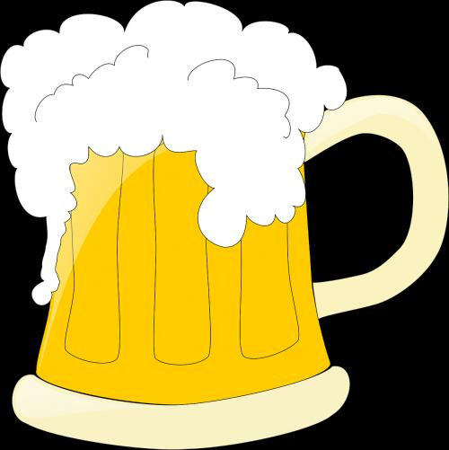 beer mug foam