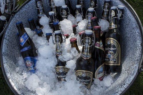 beer  beer bottles  chilled