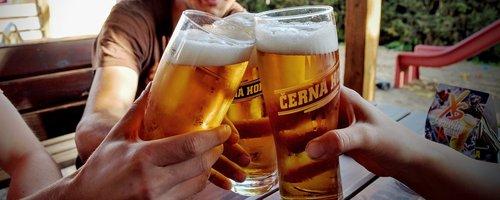 beer  toast  pleasure