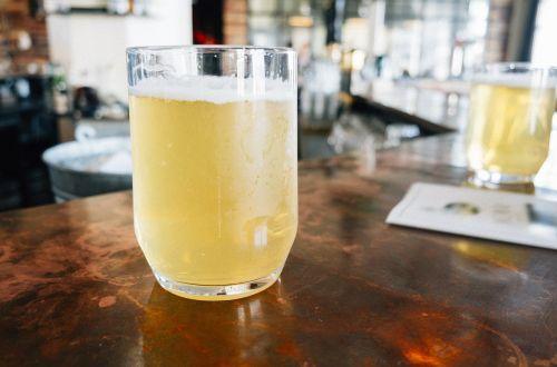 beer lemonade beverage