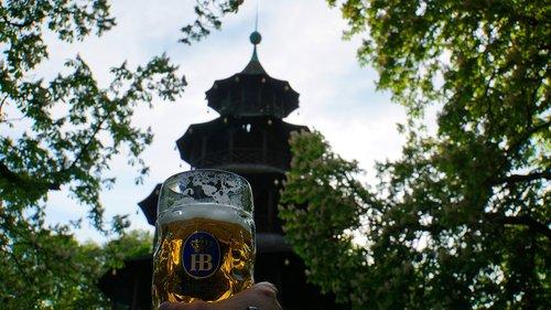 beer  beer mug  english garden