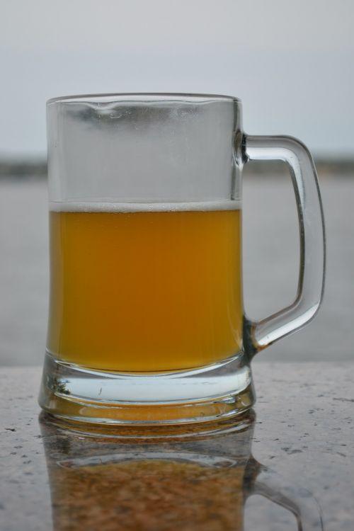 beer glass beverage