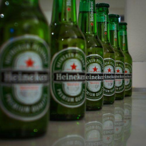 beer heineken green