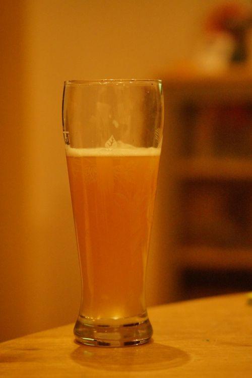 beer wheat beer beer glass
