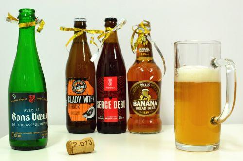 beer botttle celebration