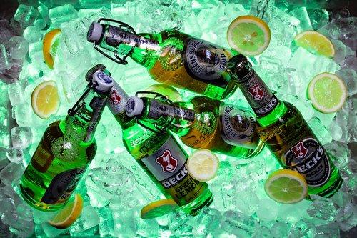 beer bottle  beer  cold