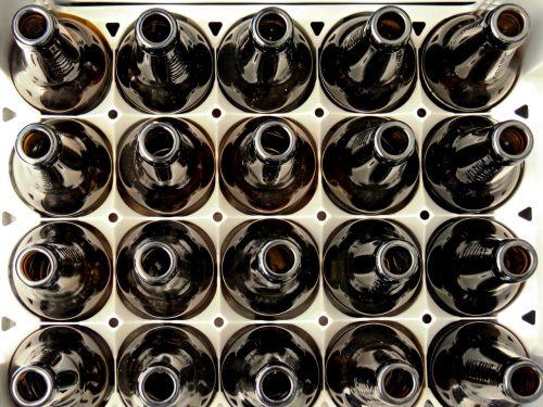 beer box empty bottles