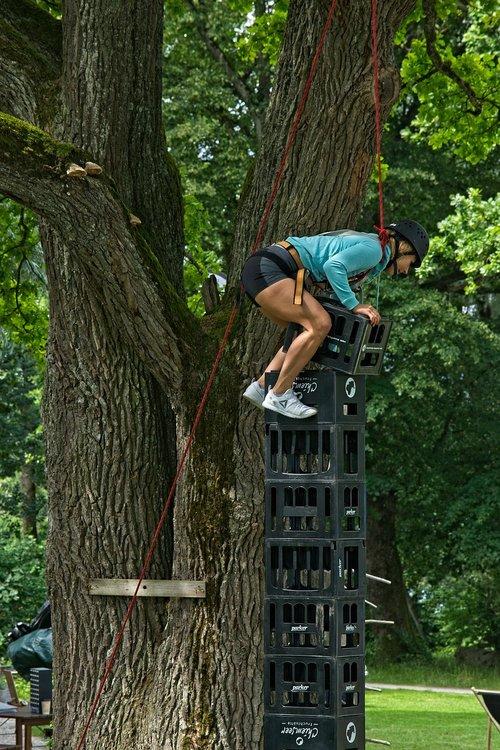 beer crates  climb  hobby