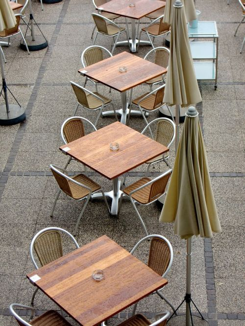 beer garden dining tables seat