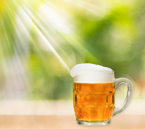 Beer In Pint Glass