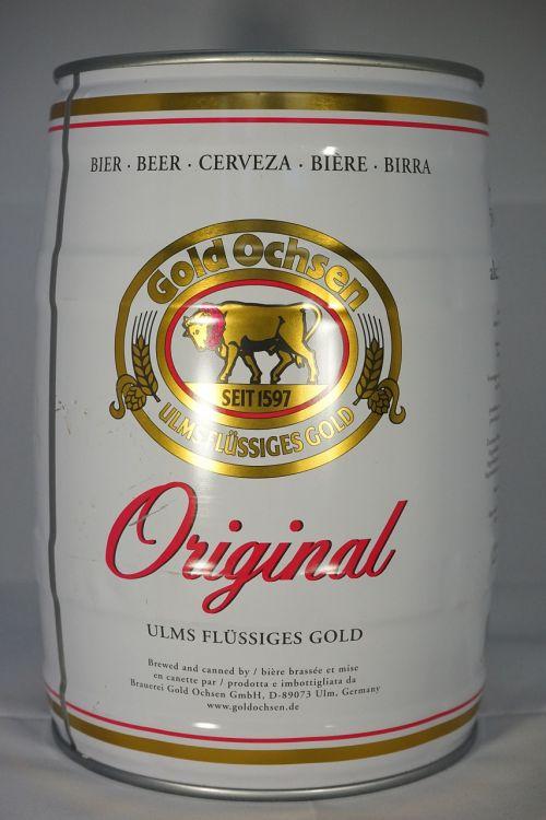 beer keg beer ox gold