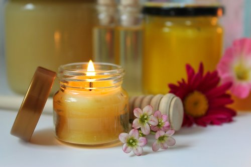 beeswax candle  beeswax  honey products