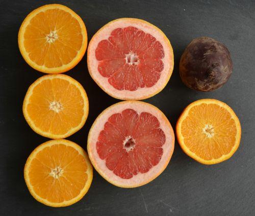 beet root grapefruit orange