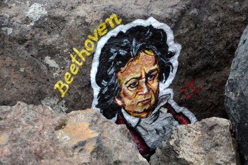 beethoven art stone