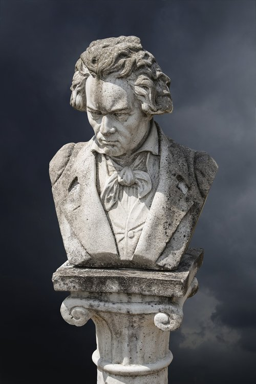beethoven  art  figure