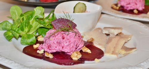 beetroot starter salad